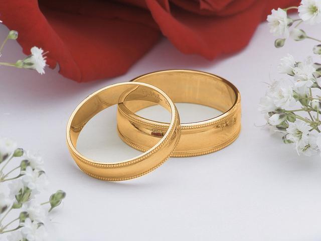 Кольца на свадьбу в картинках